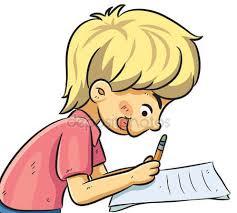 Resultado de imagen de niño estudiando dibujo